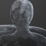 Dyptique Tech. mixte sur toile dimension : 90x80cmx2
