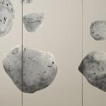 Tryptique Tech. mixte sur toile dimension : 180x300cm