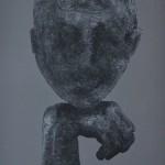 Tech. mixte sur toile dimension : 150x100cm